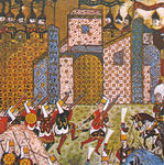 OttomanJanissariesAndDefendingKnightsOfStJohnSiegeOfRhodes1522.jpg